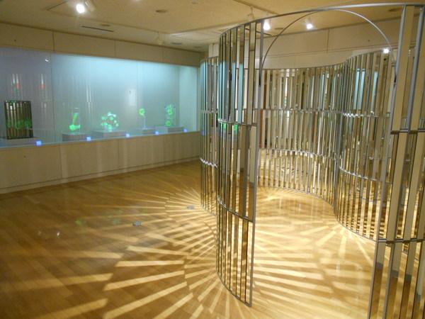 「光の瞬き 影のかたち ~本郷仁ガラス造形展~」始まりました!