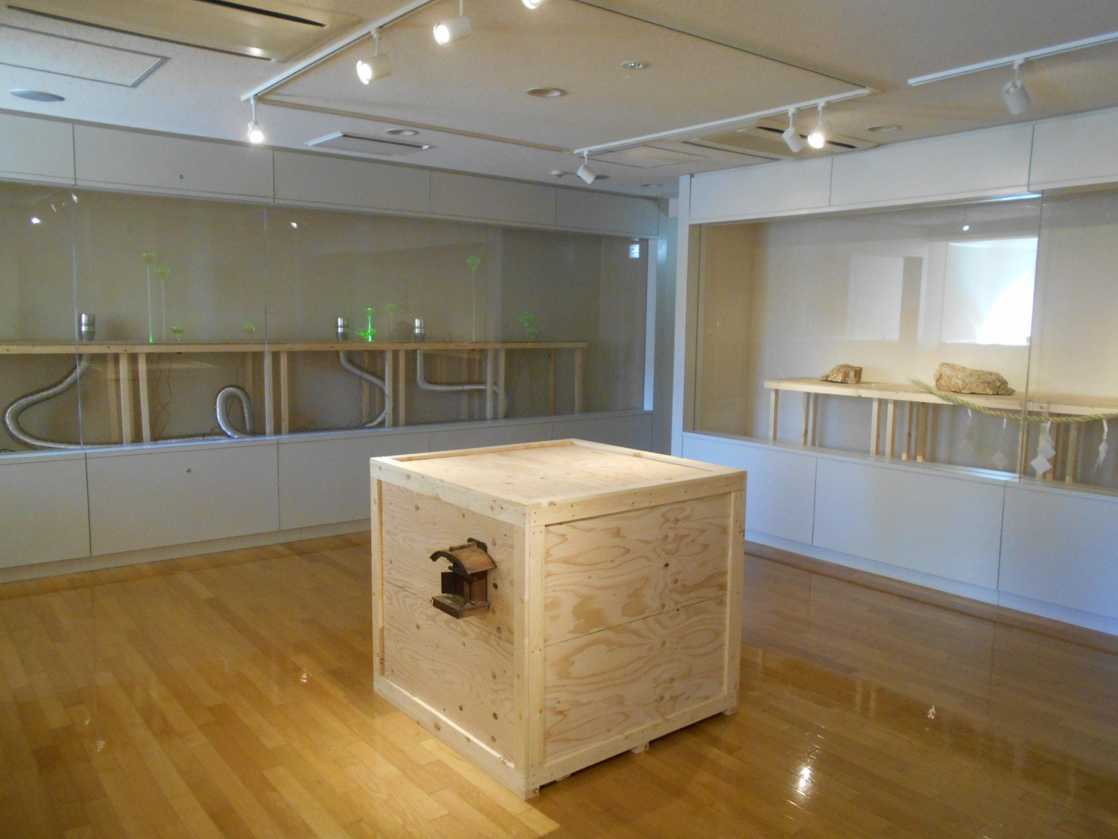松藤さんの展覧会始まりました。